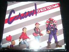 Chris Brown Crawl Rare (Australian) CD Single – New