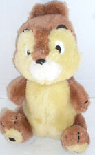 Disney CHIP from Chip N Dale CHIPMUNK Stuffed Animal Toy Made in Korea Vintage