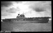 USS Enterprise CV-6  postcard US Navy ship WWII aircraft carrier