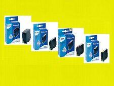 4 x Pelikan cartuccia per Epson Stylus c82 cx5100 cx5200 * sostituisce t0321-t0424