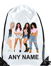 Personalised GIRL Little Mix Gym BAG Swimming bag swim PE bag School GIFT d2