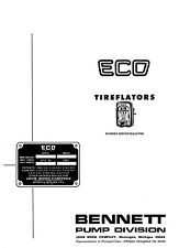 Service Instruction Bulletins ECO Tireflator 93 94 95 97 98 air meter tiremeter