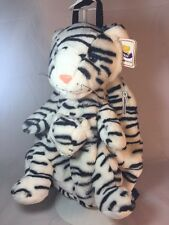 White Tiger Body Plush - Stuffed Animal Backpack Boy or Girl (A931-A23)