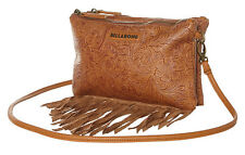 "NEW + TAG BILLABONG ""RUN FREE"" LADIES GIRLS HANDBAG SHOULDER FESITVAL BAG TAN"
