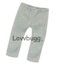 "Silver Sparkle Leggings for 18"" American Girl Doll Clothes Lovvbugg Means Fun!"