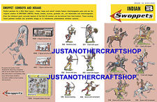 Britains swoppets indiens années 1960 affiche A3 pub shop display signe notice