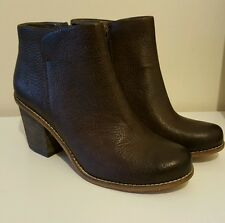 Clarks Marble Cool Ankle boots Dark Brown Lea Colour Uk 7/Euro 41