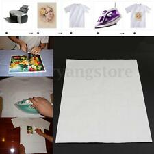 T-Shirt  Inkjet Iron-On Heat Print Transfer Paper For Light Color Fabric A3