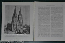 1914 magazine article about GERMANY, pre-WWI, people, history etc German Nation