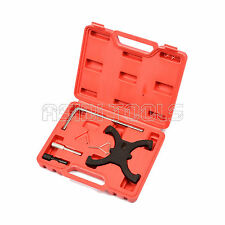5PC Engine Timing Tool Set Ford Focus Ti VCT C-Max CAM TOOLS FLYWHEEL