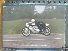 S0103-LEO COMMU YAMAHA 250 CC TUBBERGEN 1971 MRTN NO 22 PHOTO COLOR MOTO GP