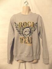 mens rocawear aggressive crew sweatshirt 2XL nwt $55 gray military inspired