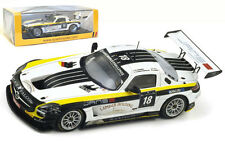 Spark SB041 Mercedes-Benz SLS AMG GT3 #18 24 Hours of Spa 2013 - 1/43 Scale