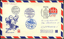 Czechoslovakia 1978 Air Balloon Praga Flight Cover #C38635