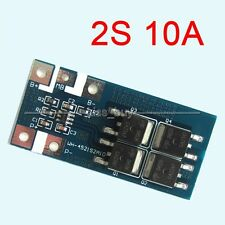 2S 10A Li-ion 7.2V 7.4V 8.4V 18650 lithium battery protection board bms pcm