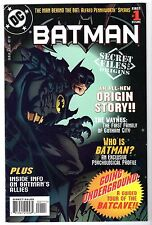 Batman Secret Files #1 - New Origin Story, Near Mint Minus Condition.