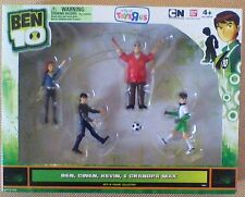 BEN 10 Exclusive 4-PACK FIGURE SET with Ben,Gwen,Kevin,Grandpa Max-RARE & NEW !