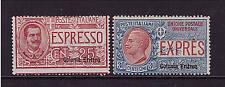 Italienisch Eritrea, Mi-Nr. 31-32 Eilmarken, ungebraucht (21414)
