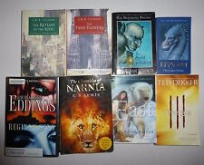 8 Lot Fantasy Books, J.R.R.Tolkien, Ted Dekker, C.S. Lewis,Christopher Paolini++