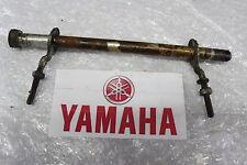 Yamaha RD 50 Axis Arbre de roue Essieu avec chaînes Ajusteur Arrière #R7630