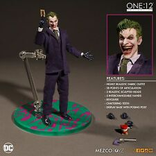 MEZCO TOYZ  ONE:12 COLLECTIVE DC Universe:THE JOKER PRE-ORDER 6 Inch figure