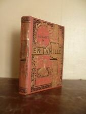 H.MALOT EN FAMILLE FLAMMARION PARIS ILLUSTR.LANOS TR.OR TOME 1 NOUV.EDIT. SD.BE