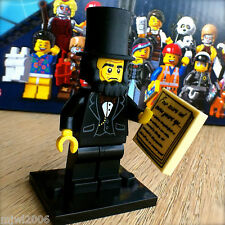 THE LEGO MOVIE Minifigures ABRAHAM LINCOLN #5 SEALED Minifigs Series 71004 ABE