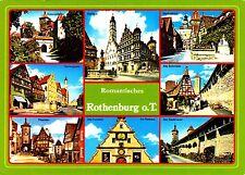 Romantisches Rothenburg o.T. , Ansichtskarte ,1989 gelaufen