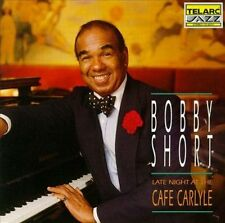 Late Night at the Cafe Carlyle by Bobby Short (CD, Mar-1992, Telarc...