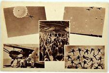 Cartolina Aviazione - Paracadutisti - Non Viaggiata