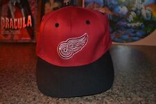 Detroit Red Wings Lightware Fiber Optics Light Up Logo Hat Cap Snapback Logo 7