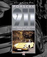 RARE PORSCHE 911 1963 TO 1971 CAR BOOK ( LONG)  jm