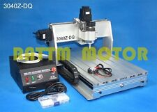 Ballscrew 3 Axis 3040 300W CNC Router Engraver Engraving Cutting Milling Machine