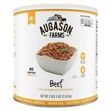 Augason Farms Emergency Food Beef Flavored Vegetarian Meat Substitute 40 oz