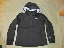 The North Face Women's Resolve 2 Jacket L Large Black Blue DryVent Hooded Rain