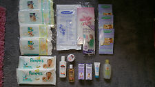 Pampers-baby cadeau/voyage/hôpital pack-shampooing, couche, crème, breast pads etc