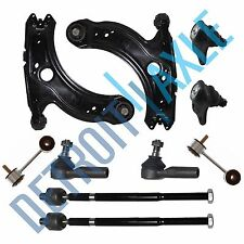 Brand New 10pc Complete Front Suspension Kit for Volkswagen Jetta Golf Beetle