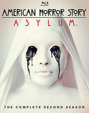 American Horror Story: Asylum Season 2 (Blu-ray Disc, 2013, 3-Disc Set)
