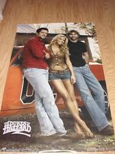 2005 DUKES OF HAZZARD CAST POSTER 22x34 JOHNNY KNOXVILLE JESSICA SIMPSON