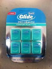 CREST Pro Health Oral B Glide Dental Comfort Plus Floss 6 pack 262.2 yards