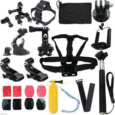 Head strap Mount Monopod Floating Combo Kit Accessories For GoPro 1 2 3 4 Camera