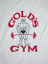 Vintage Gold's Gym Bodybuilding Workout Muscle Half Sleeve V-Neck T Shirt S