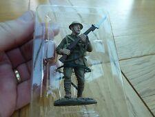 """WW1 DIE CAST 1916 PRIVATE LANCASHIRE FUSILIERS DEL PRADO FIGURE NEW 3"""" TALL"""