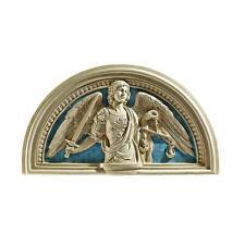 15th-cent. Saint Michael the Archangel by della Robbia Lunette Sculpture Replica