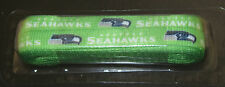 """Seattle Seahawks Shoe Laces NFL 54"""" One Pair NFL Football Fans Neon Green New"""