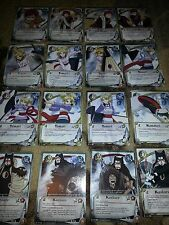Lot of 100 Naruto Cards CCG (All Sand Village) No Duplicates -Fast Ship