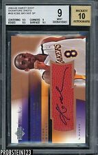 2003-04 Upper Deck Sweet Spot Signature Shots Kobe Bryant Lakers AUTO SP BGS 9