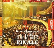 Finale (CD, DVD) Donald Lawrence Tri-City Singers  (SEALED and NEW) Shelf GS 2