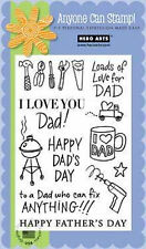 Hero Arts Poly Clear Stamps - Happy Dad's Day CL335  #1244