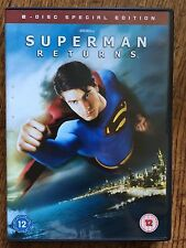 Brandon Routh Kevin Spacey SUPERMAN RETURNS ~ 2006 Film | 2-Disc Spec Ed UK DVD
